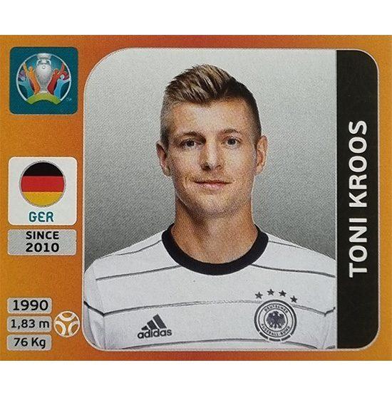 Panini EURO 2020 Sticker Nr 620 Toni Kroos