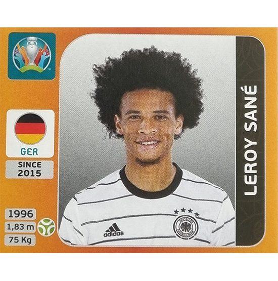 Panini EURO 2020 Sticker Nr 622 Leroy Sane