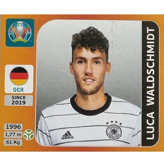 Panini EURO 2020 Sticker Nr 623 Luca Waldschmidt