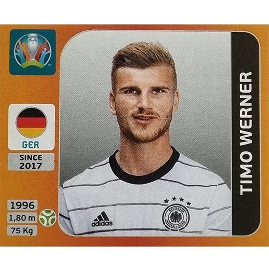 Panini EURO 2020 Sticker Nr 624 Timo Werner
