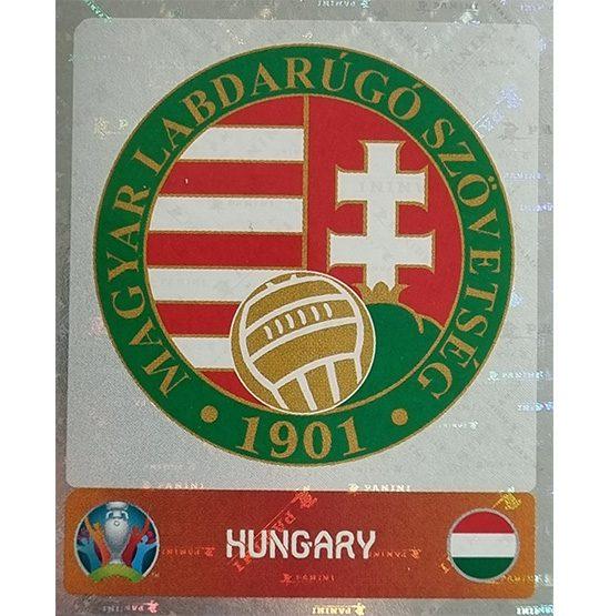Panini EURO 2020 Sticker Nr 625 Hungary Logo