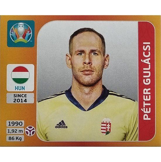 Panini EURO 2020 Sticker Nr 626 Peter Gulacsi
