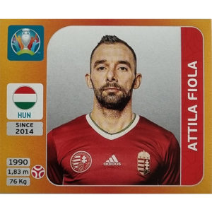 Panini EURO 2020 Sticker Nr 630 Attila Fiola