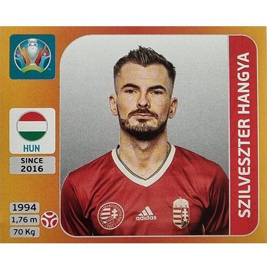 Panini EURO 2020 Sticker Nr 631 Szilveszter Hangya