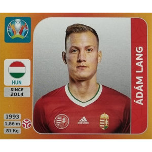 Panini EURO 2020 Sticker Nr 632 Adam Lang