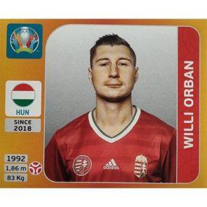 Panini EURO 2020 Sticker Nr 633 Willi Orban