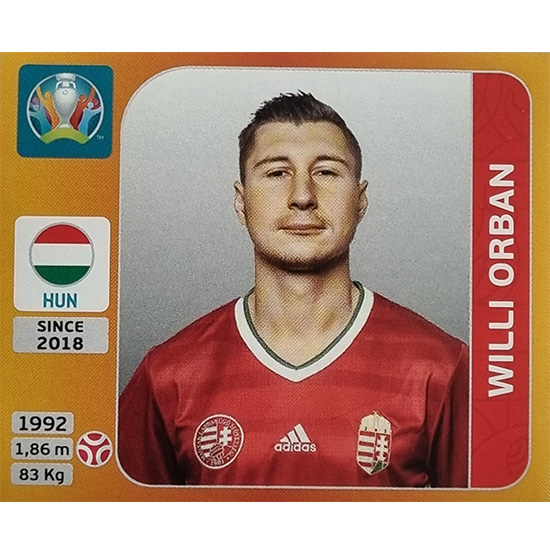 Panini EURO 2020 Sticker Nr 633 Willi Orban