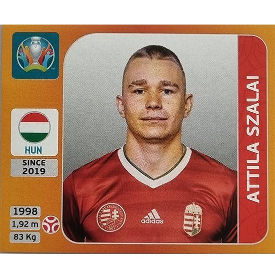 Panini EURO 2020 Sticker Nr 634 Attila Szalai