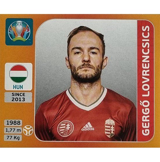 Panini EURO 2020 Sticker Nr 636 Gergo Lovrencsics
