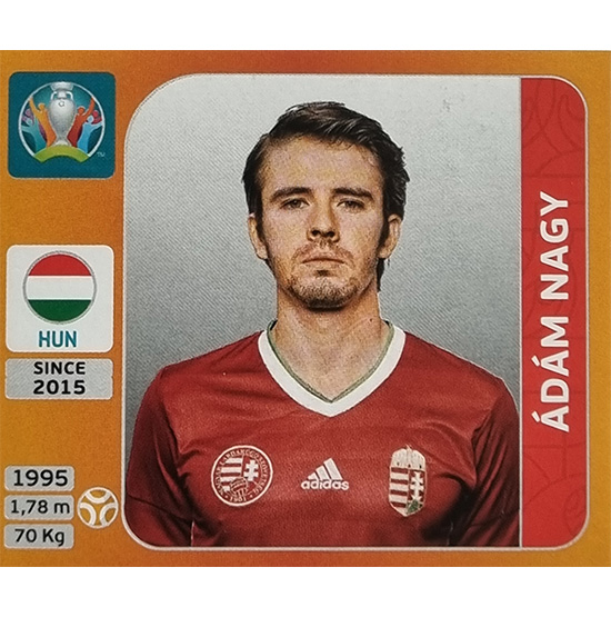 Panini EURO 2020 Sticker Nr 637 Adam Magy
