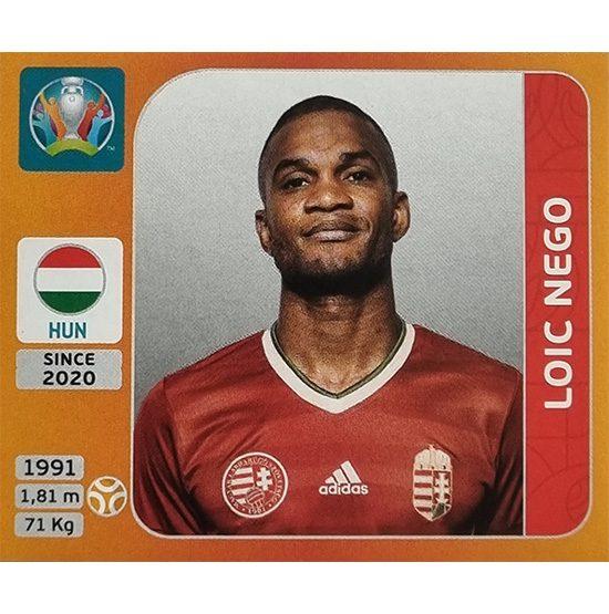Panini EURO 2020 Sticker Nr 638 Loic Nego