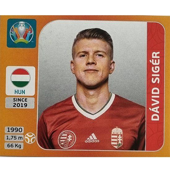 Panini EURO 2020 Sticker Nr 639 David Siger