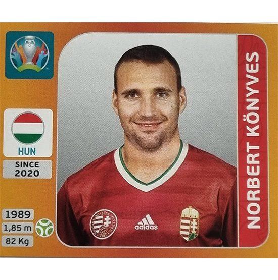 Panini EURO 2020 Sticker Nr 642 Norbert Könyves