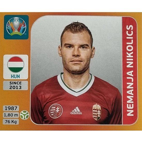 Panini EURO 2020 Sticker Nr 643 Nemanja Nikolics