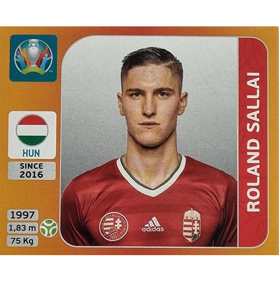 Panini EURO 2020 Sticker Nr 644 Roland Sallai
