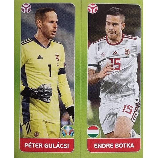 Panini EURO 2020 Sticker Nr 646 Gulacsi Botka