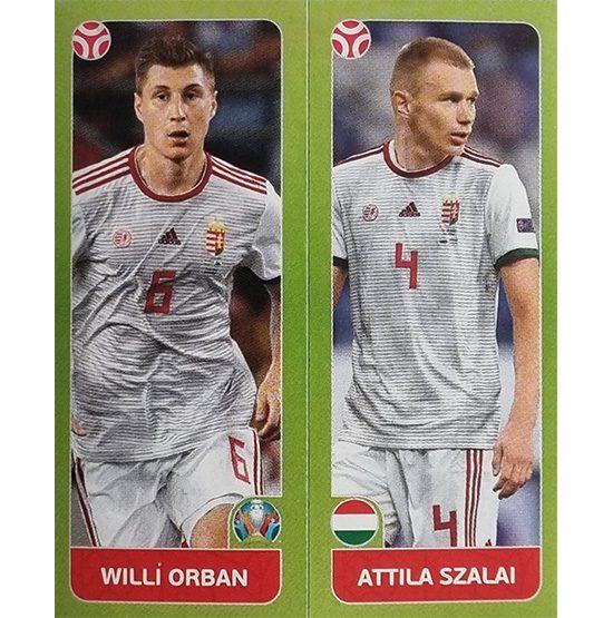 Panini EURO 2020 Sticker Nr 648 Orban Szalai