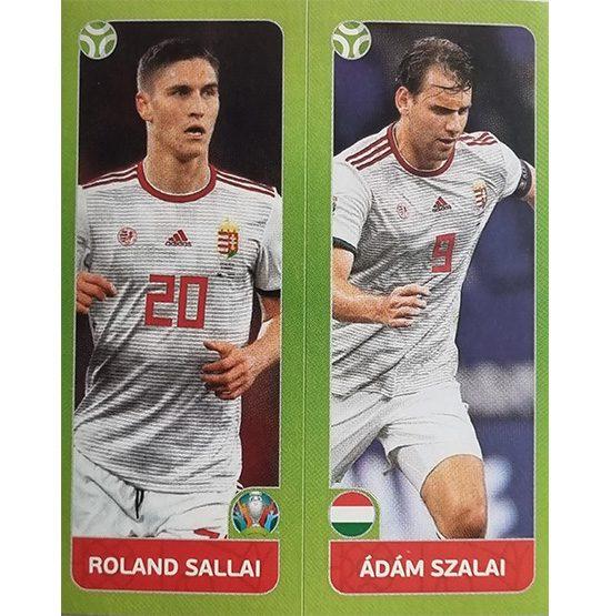 Panini EURO 2020 Sticker Nr 651 Sallai Szalai