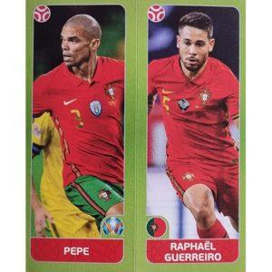 Panini EURO 2020 Sticker Nr 653 Pepe Guerreiro