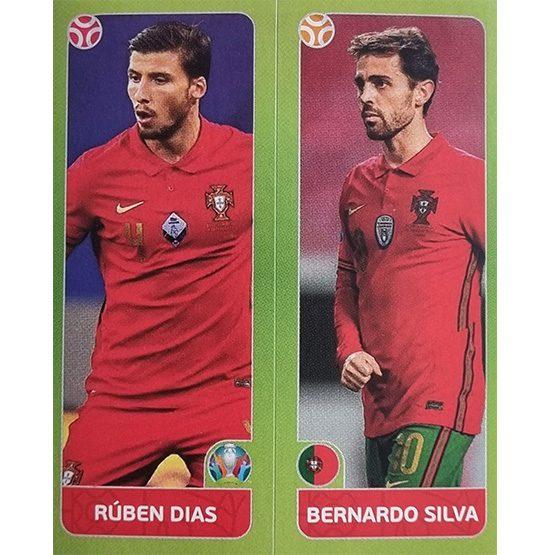Panini EURO 2020 Sticker Nr 654 Dias Silva