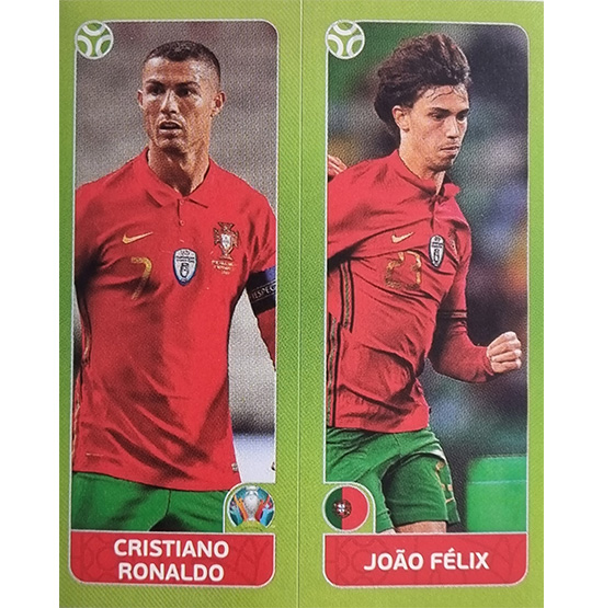 Panini EURO 2020 Sticker Nr 657 Ronaldo Felix