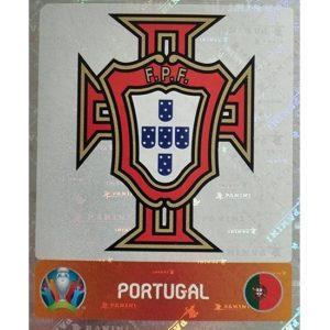 Panini EURO 2020 Sticker Nr 658 Portugal Logo