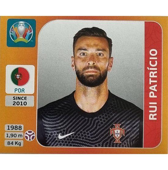 Panini EURO 2020 Sticker Nr 659 Rui Patricio