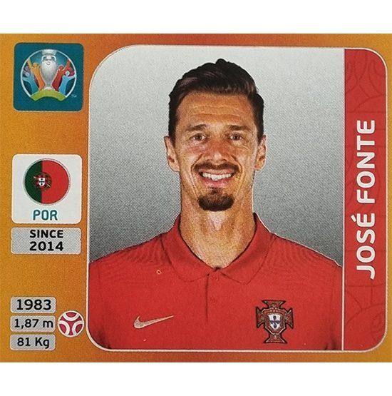 Panini EURO 2020 Sticker Nr 662 Jose Fonte