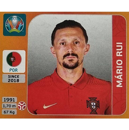 Panini EURO 2020 Sticker Nr 663 Mario Rui