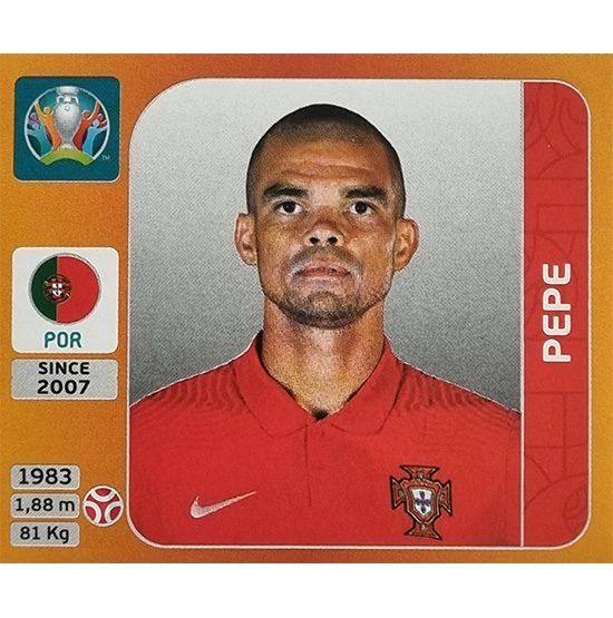 Panini EURO 2020 Sticker Nr 665 Pepe