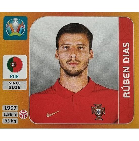 Panini EURO 2020 Sticker Nr 667 Ruben Dias