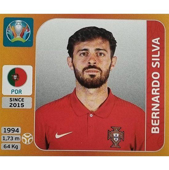Panini EURO 2020 Sticker Nr 668 Bernardo Silva