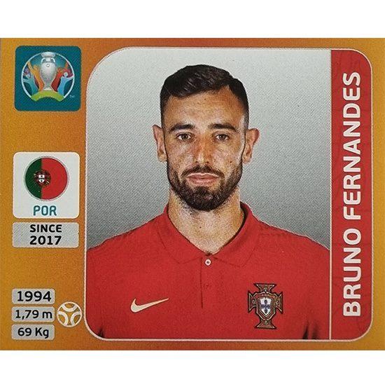Panini EURO 2020 Sticker Nr 669 Bruno Fernandes