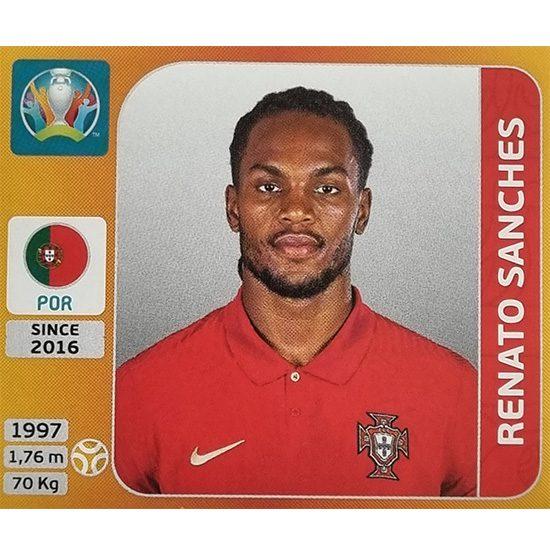 Panini EURO 2020 Sticker Nr 672 Renato Sanches