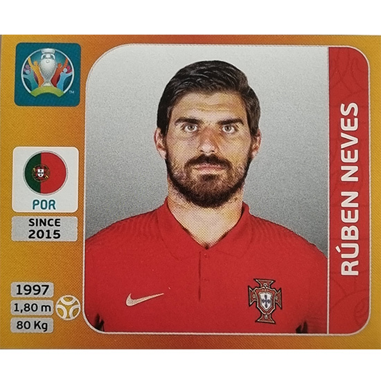 Panini EURO 2020 Sticker Nr 673 Ruben Neves