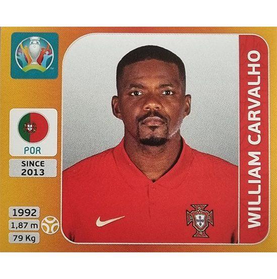 Panini EURO 2020 Sticker Nr 674 William Carvalho