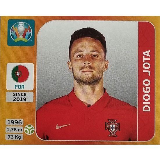Panini EURO 2020 Sticker Nr 675 Diogo Jota
