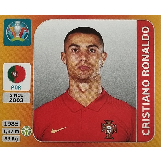 Panini EURO 2020 Sticker Nr 676 Cristiano Ronaldo