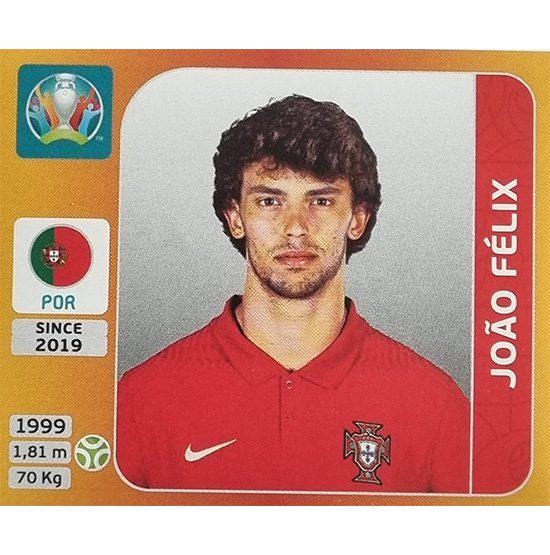 Panini EURO 2020 Sticker Nr 677 Joao Felix