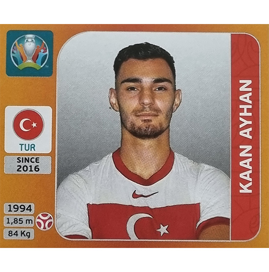 Panini EURO 2020 Sticker Nr 068 Kaan Ayhan