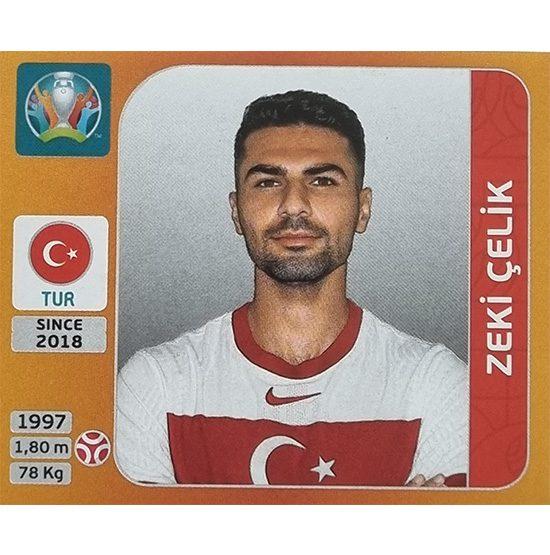 Panini EURO 2020 Sticker Nr 069 Zeki Celik
