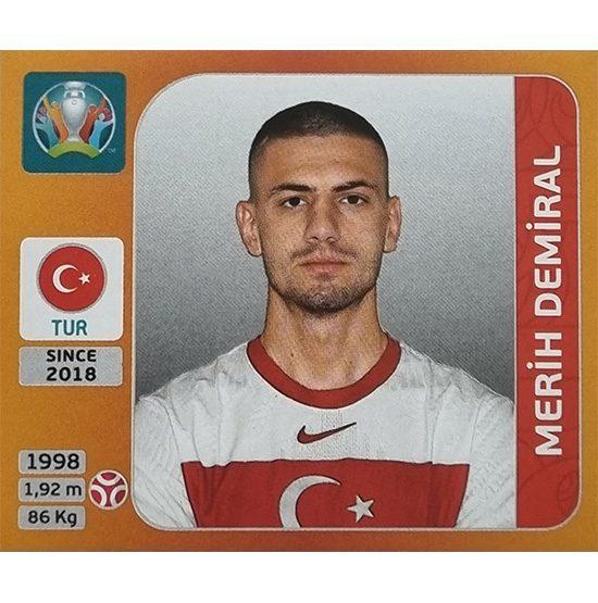 Panini EURO 2020 Sticker Nr 070 Merih Demiral