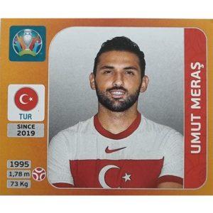 Panini EURO 2020 Sticker Nr 072 Umut Meras