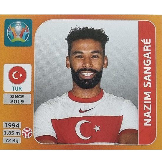 Panini EURO 2020 Sticker Nr 073 Nazim Sangare