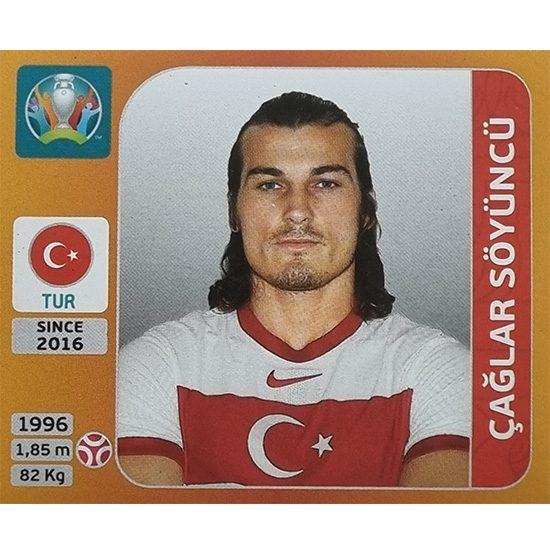 Panini EURO 2020 Sticker Nr 074 Caglar Söyüncü