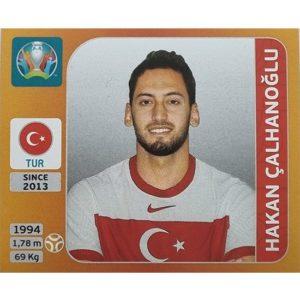 Panini EURO 2020 Sticker Nr 075 Hakan Calhanoglu