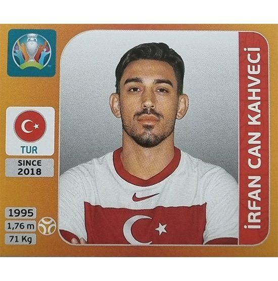 Panini EURO 2020 Sticker Nr 076 Irfan Can Kahveci