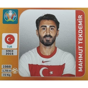 Panini EURO 2020 Sticker Nr 077 Mahmut Tekdemir