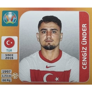 Panini EURO 2020 Sticker Nr 079 Cengiz Ünder