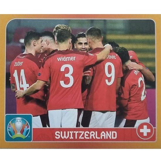 Panini EURO 2020 Sticker Nr 008 Switzerland